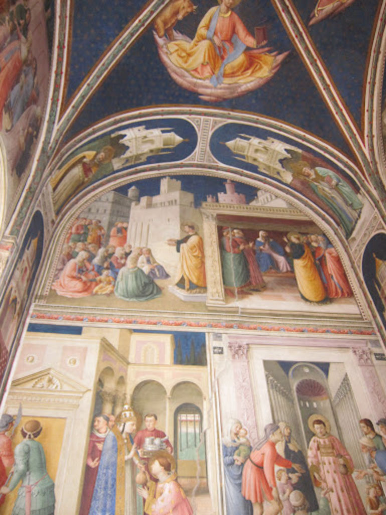 an overview of the sistine chapel The sistine chapel in the vatican is renowned for its renaissance art, especially the ceiling painted by michelangelo.
