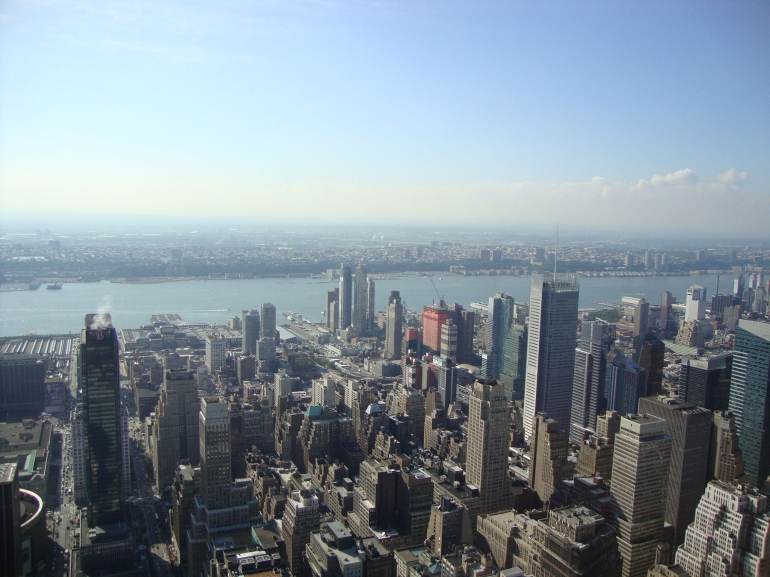 View from Observation Deck, Empire State - New York City