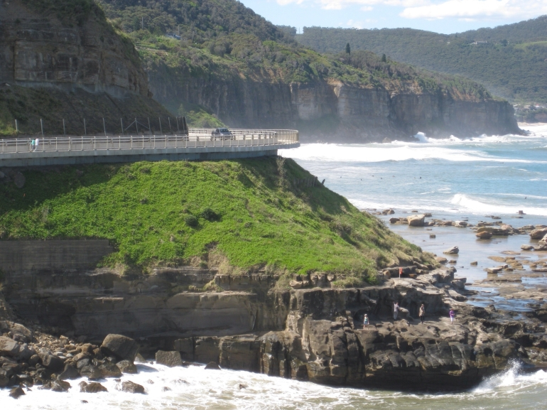 View from Sea Cliff Bridge -
