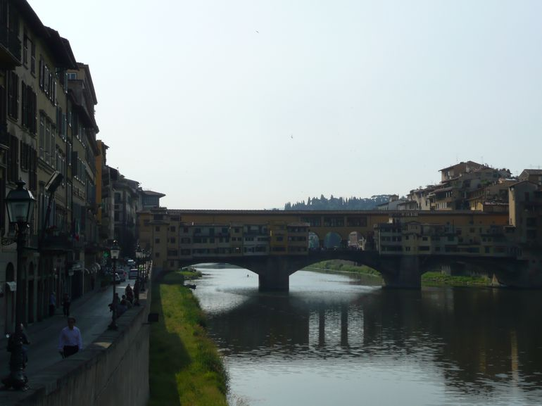 Arno River and Ponte Vecchio - Florence