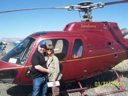 Photo of Las Vegas Ultimate Grand Canyon 4-in-1 Helicopter Tour Arrival at the top of the West Rim