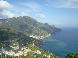 Another amazing view of the coast and mountains of Amalfi., Deanna C - September 2008