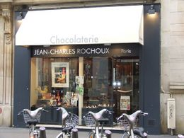 Outside of the Jean-Charles Rochoux shop, Kelli A - December 2009
