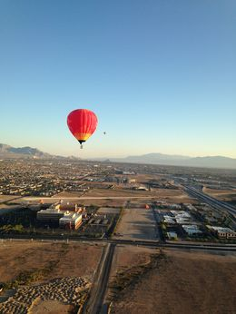 Photo of Las Vegas Las Vegas Sunrise Hot Air Balloon Ride Flying Over Vegas!