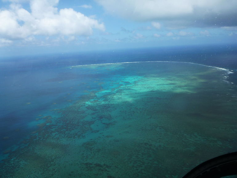 Great Barrier Reef View from Top - Cairns & the Tropical North
