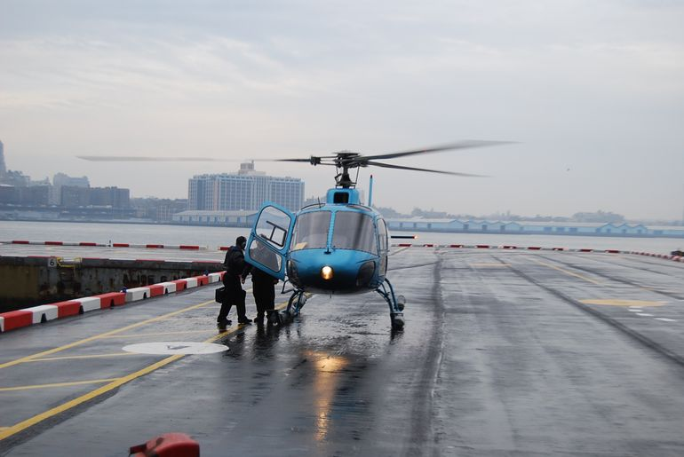 Helicopter - New York City