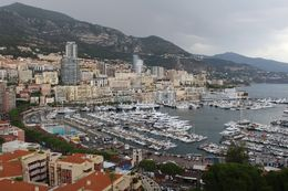 The area of Monte Carlo - the yachts, the racetrack, the casino, etc. , Trish - July 2014