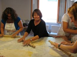 Photo of Florence Small-Group Italian Cooking Class in Florence Pasta!