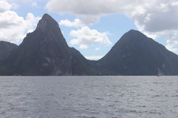 on the approach to the pitons , Evan Z - February 2013