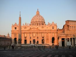 Photo of Rome Skip the Line: Vatican Museums Walking Tour including Sistine Chapel, Raphael's Rooms and St Peter's St. Peter's at Daybreak