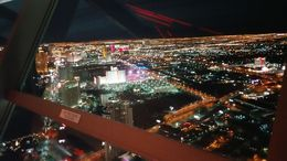 View from the Stratosphere Tower. , ashes - February 2016
