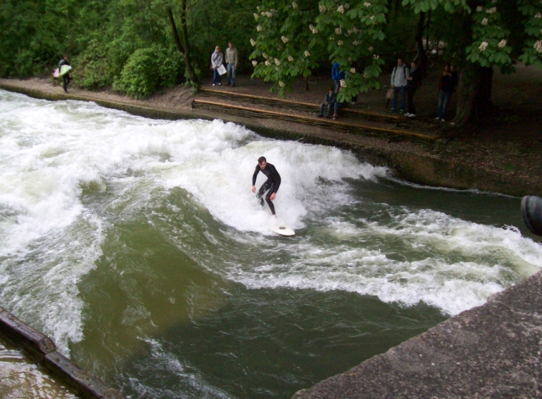 Surfs Up in Munich - Munich