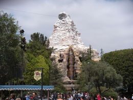 Photo of Los Angeles Disneyland or Disney's California Adventure with Transport from Los Angeles The Matterhorn