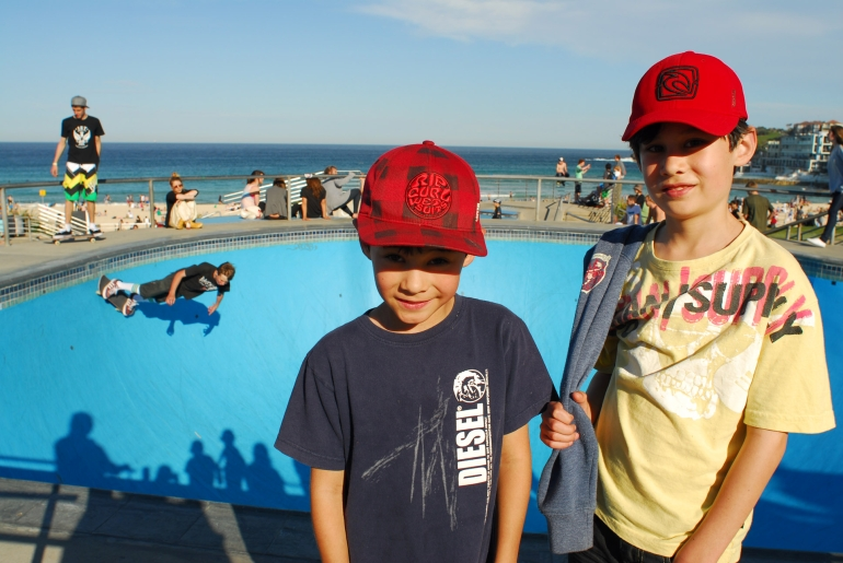 The Skating Bowl at Bondi - Sydney