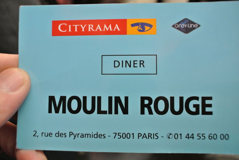 The Ticket with Dinner - Paris