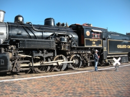 Photo of Grand Canyon National Park Grand Canyon Railway Adventure Package The train!