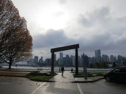 View from Stanley Park on Downtown , Carolin H - November 2015