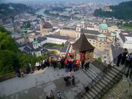 Photo of Munich Salzburg Small Group Day Tour from Munich View of Salzburg from the fortress