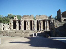 Photo of Rome Hadrian's Villa and Villa d'Este Half-Day Trip from Rome Villa Adriana