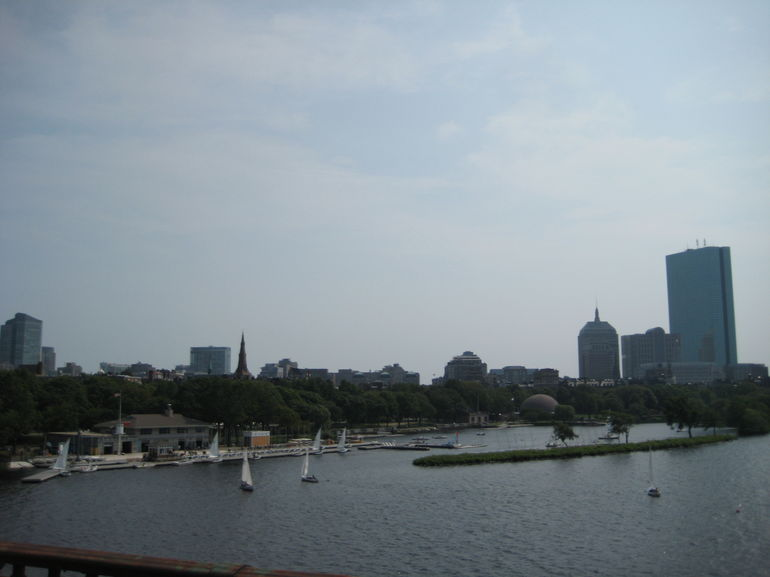 Waterview from the bridge - Boston