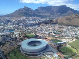 The Stadium in Cape Town that hosted World Cup Games, Nick - January 2013