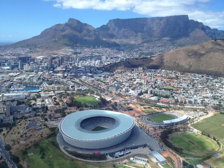 The Stadium in Cape Town that hosted World Cup Games
