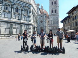 My family enjoying our tour of Florence, Segway style. , Sean M - June 2016
