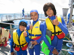 Getting ready to dive on in! - July 2014