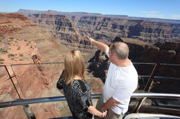 Photo of Las Vegas Viator Exclusive: Grand Canyon Helicopter Tour with Optional Below-the-Rim Landing and Skywalk Upgrade Grand Canyon Skywalk View
