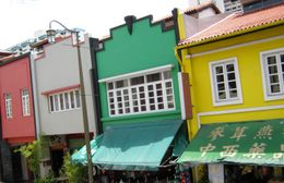 Photo of Singapore Singapore City Hop-on Hop-off Tour Heritage Tour - colourful buildings