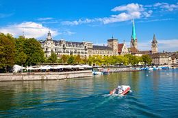 Photo of Zurich Zurich Super Saver 1: Best of Zurich City Tour including the Lindt Chocolate Factory Outlet Limmat river