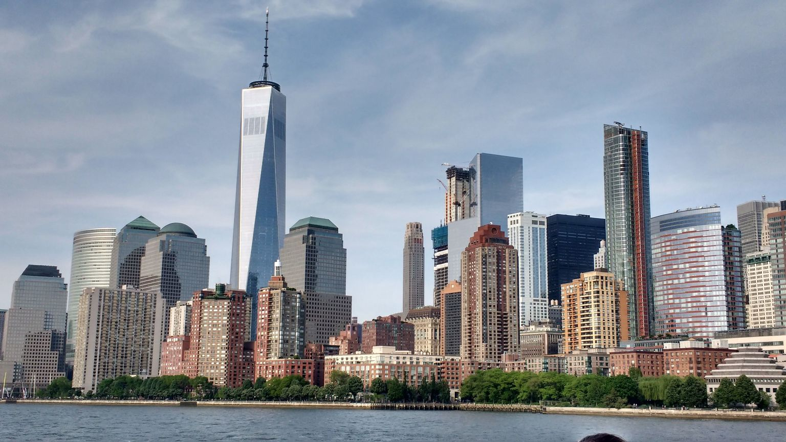 Lower Manhattan and the Freedom Tower