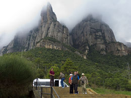 Photo of Barcelona Montserrat and Cava Trail Small Group Day Trip from Barcelona Montserrat Monastery