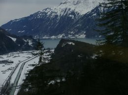 Crystal clear lakes, rivers and snow topped mountains. - December 2009