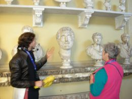"Photo of Rome Skip the Line: Vatican Museums Walking Tour including Sistine Chapel, Raphael's Rooms and St Peter's Our Guide ""Adopted"" my Mom on the Tour"