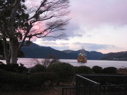 Photo of Tokyo Mt Fuji, Lake Ashi and Bullet Train Day Trip from Tokyo Sunsetting...A Touch of Red.
