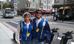 Photo of San Francisco San Francisco Waterfront Segway Tour Taking a break 1/2 way through our tour.
