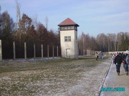 Any prisoner who stepped on the death strip was shot instantly by guards in the watch towers at Dachau Concentration Camp., Kasturi Mohan D - January 2008