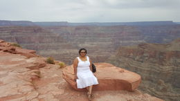 The Grand Canyon and me , Regina J - October 2015