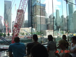 Just one of several view points available as we walked around the entire 'ground zero' site. Our guides 'first person' account was very touching. , Joseph P - July 2011