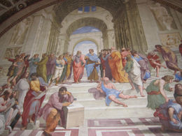 Our guide gave tons of insight of the Art History in the Vatican., Barrie S - June 2012