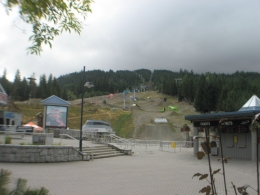 Photo of Vancouver Vancouver to Whistler by Train Rail Tour Whistler Village.