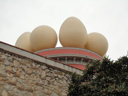 A view of the exterior of the Dali museum in Figures., Ellyn C - February 2011