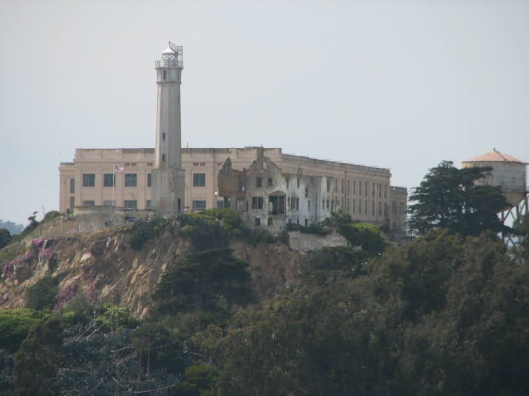 Alcatraz from the boat - San Francisco
