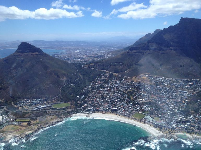 Beach and Mountain - Cape Town