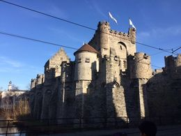We did not have time to visit the Castle... , Carolina - February 2016