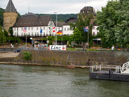 The town of Linz is the last stop on the cruise , LISA E - August 2012