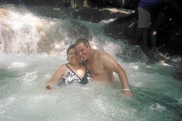 Photo of Montego Bay Dunns River Falls and Ocho Rios Shopping Tour Dunns falls