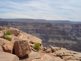 Photo of Las Vegas Deluxe Grand Canyon West Rim Airplane Tour with Optional Helicopter Tour Guano Point