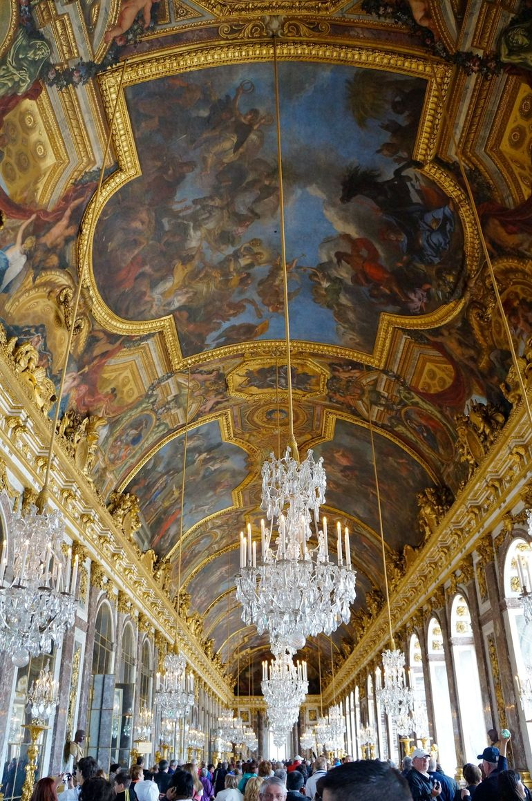 Hall of Mirrors in Versailles - Paris